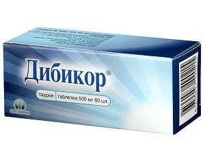 Лечение сахарного диабете препаратом Дибикор